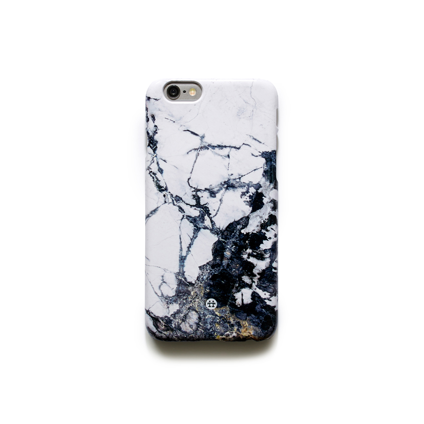 [MADOTTA] black and white marble caseIPHONE 6S+/6+