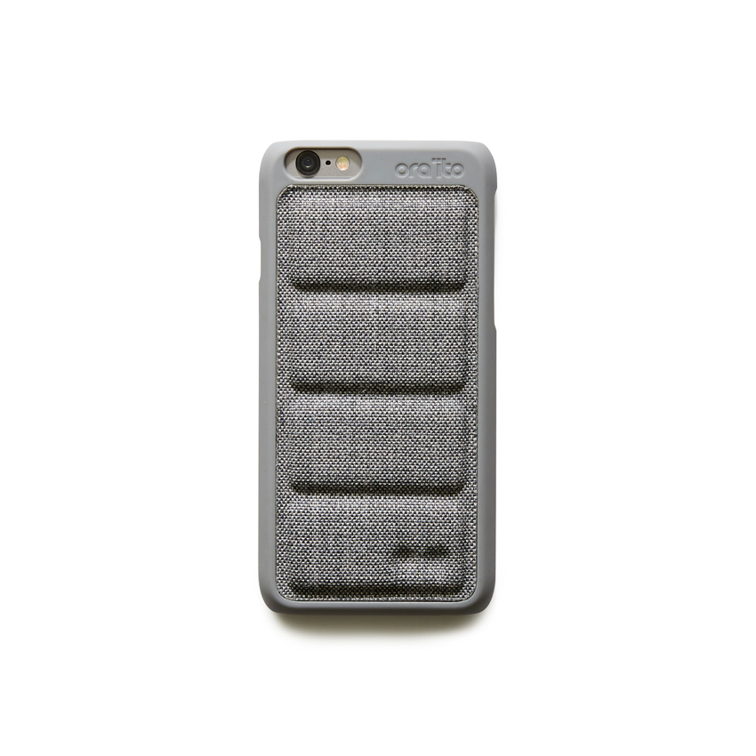 [ORAITO] padding back cover case - GRAY IPHONE 6S/6