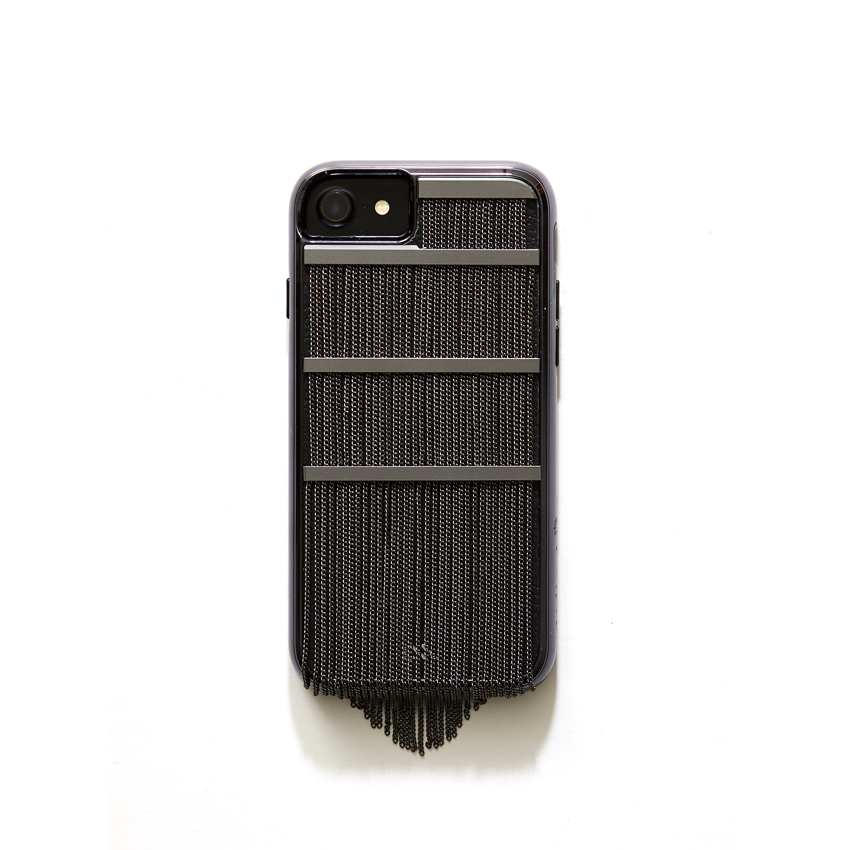 [CASE.MATE] fringed metal black case IPHONE 8/7