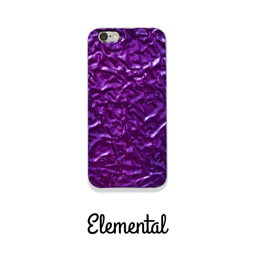 [E.CASE] amethyst crystal case IPHONE 6S/6