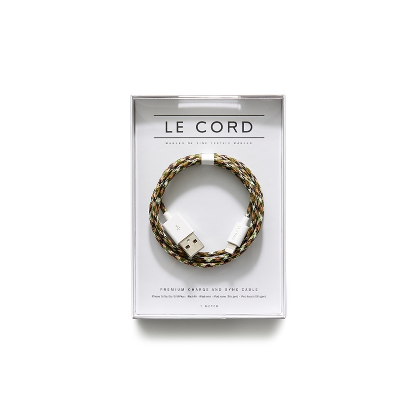 [LE CORD] USB charge camo cable