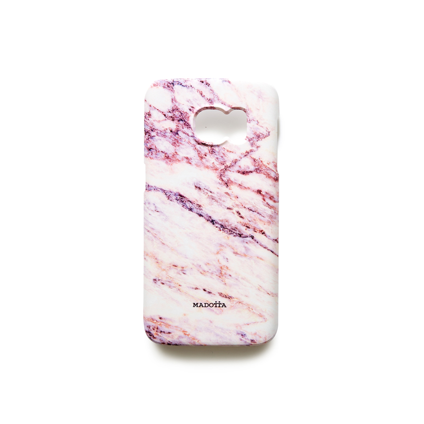 [MADOTTA] pink galaxy marble case  GALAXY S7