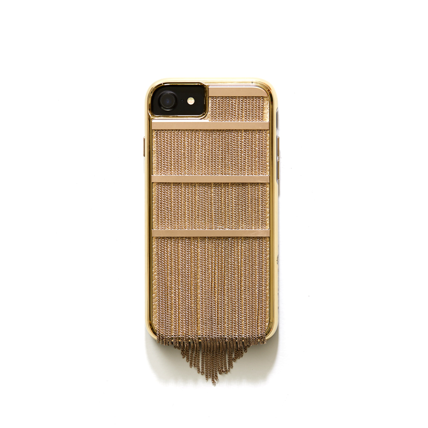 [CASE.MATE] fringed metal gold case IPHONE 8/7