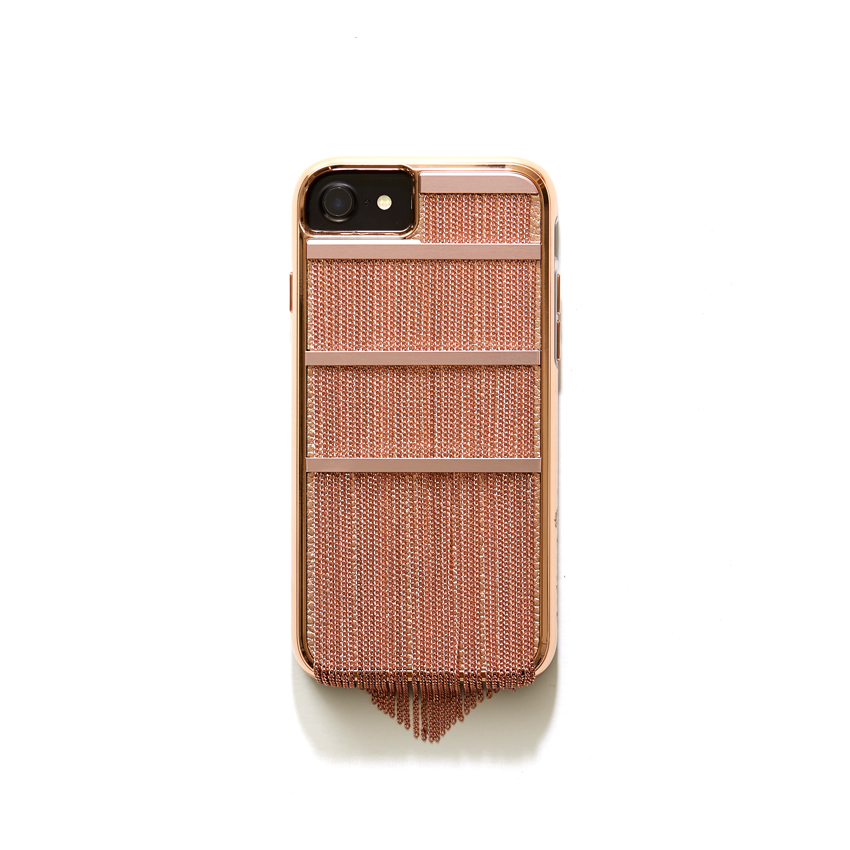 [CASE.MATE] fringed metal rose gold case IPHONE 8/7